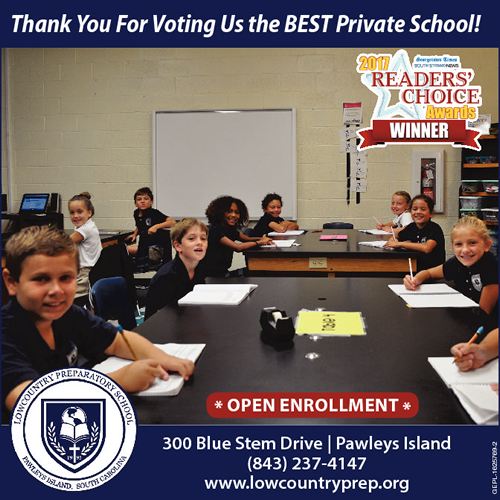 2017 Readers Choice Award for Best Private School